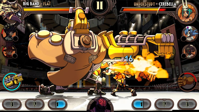 Skullgirls Goes Mobile With A Fighting RPG Spinoff