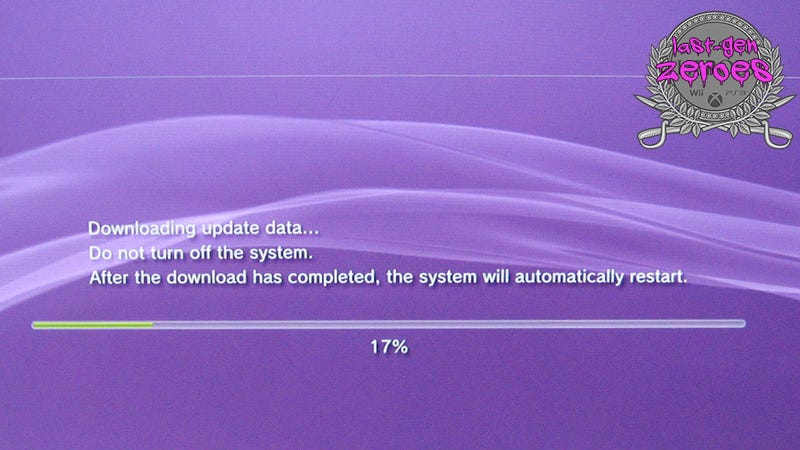 PS3 System Updates, You Were The Worst