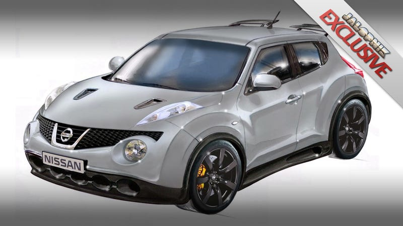 "Nissan Europe's secret Godzilla-powered ""Super"" Juke"
