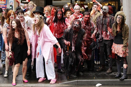 Sydney Is Overrun With Zombies, And It Is Awesome