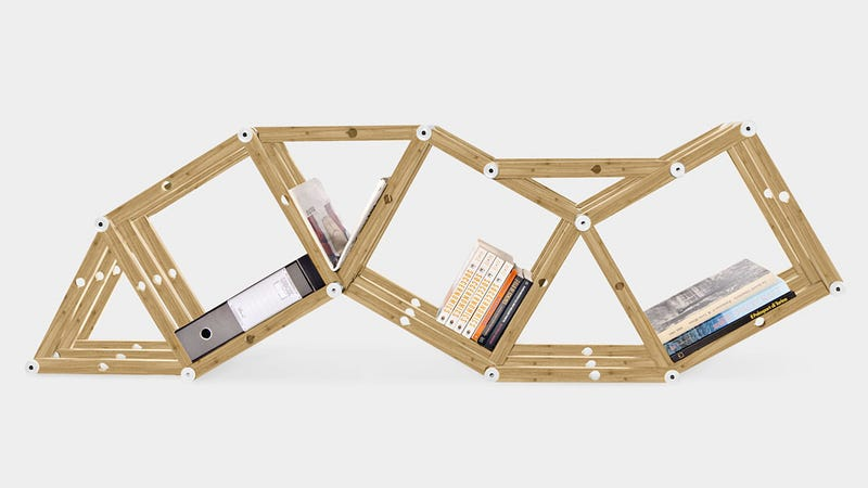 Erector Set Shelving System Lets You Make The Decisions