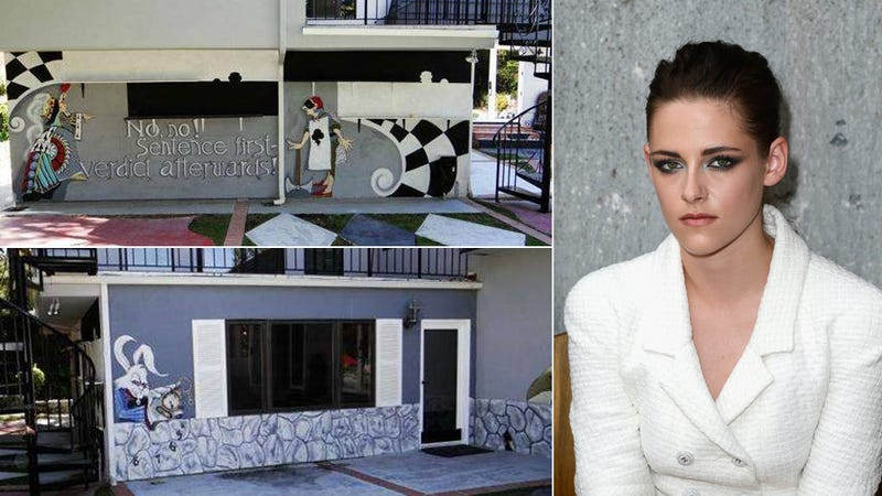 Kristen Stewart's Childhood Home Is an Alice in Wonderland Cult Palace