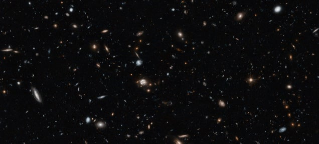 This New Hubble Pic Takes Us Halfway to the Edge of the Universe