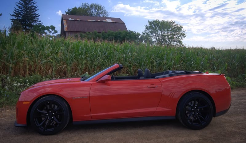 Chevrolet Camaro ZL1 Convertible: The Jalopnik Review