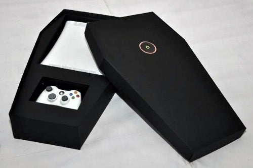 A Real Xbox 360 Coffin