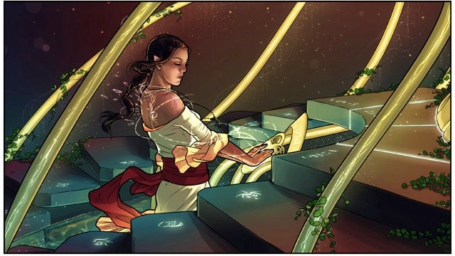 Saturday Webcomic: Spindrift is one of this year's most gorgeous fantasy webcomics