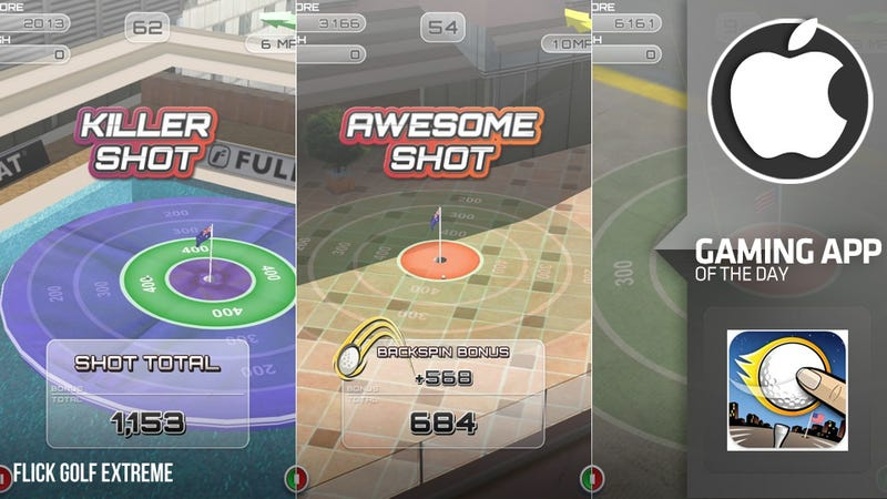 Drive Yourself Crazy With Flick Golf Extreme