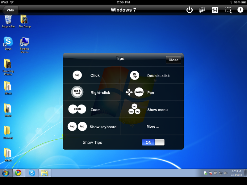 Parallels Mobile Brings Windows to Your iOS Device