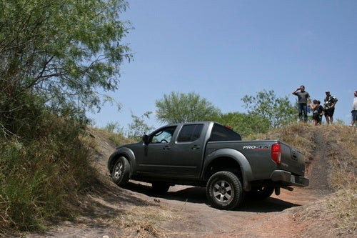 Nissan Frontier PRO4X Close Up