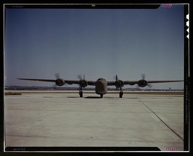 Consolidated C-87 Liberator Express test flight pictures