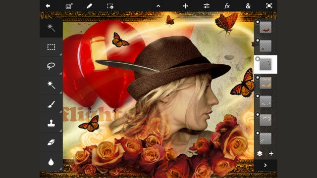 Adobe Photoshop Touch for iPad Is Here
