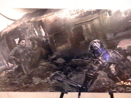 Terminator Salvation Art You'll Want To Spray-Paint On Your Van