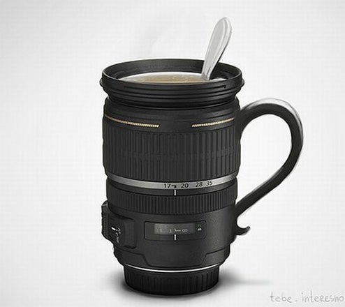 Zoom Lens Coffee Mug Helps Keep Photographers Caffeinated