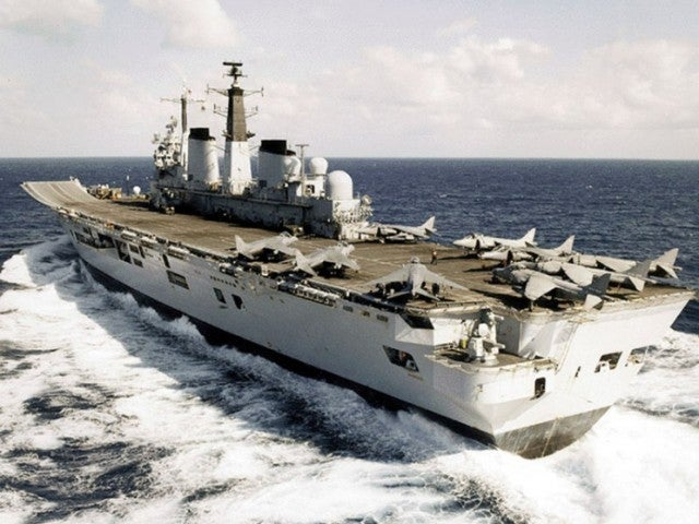 This Aircraft Carrier Is For Sale
