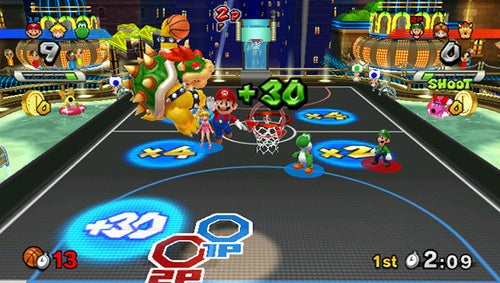 A Volley Of Mario Sports Mix Screens