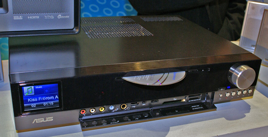 Asus's DAV Center A33 Media Center PC Plus Amp