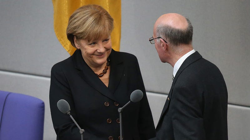 Chancellor Angela Merkel Re-Elected by German Parliament for Third Term