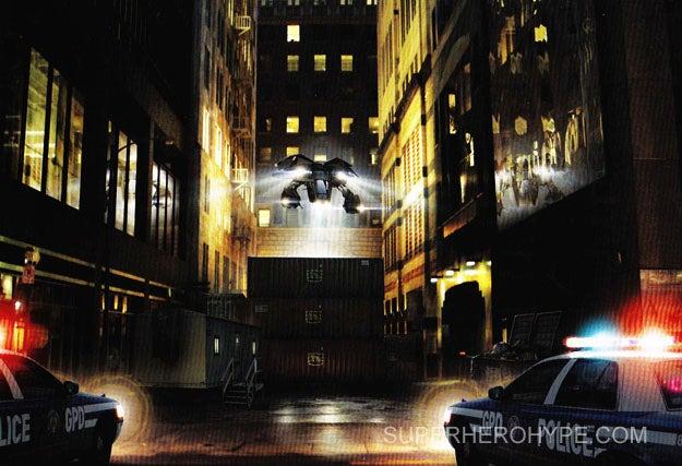 Dark Knight Rises Dark Knight Manual Gallery