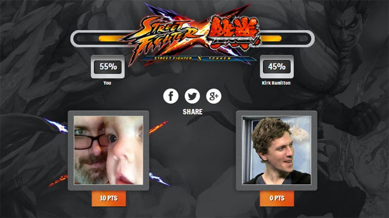 Pummel Your Pals in the Street Fighter X Tekken Facebook Game