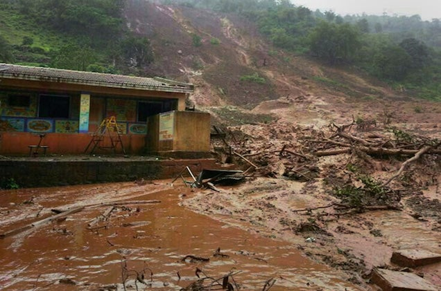 Ten Dead, 150 Trapped After Mudslide in India