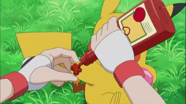 Pikachu Is Finally Reunited with His Great Love: Ketchup