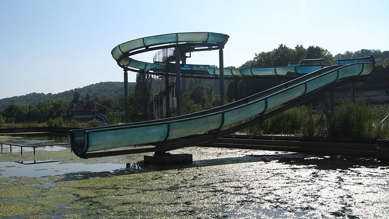 Ever Wonder What Happened to the Water-Parks of Your Childhood?