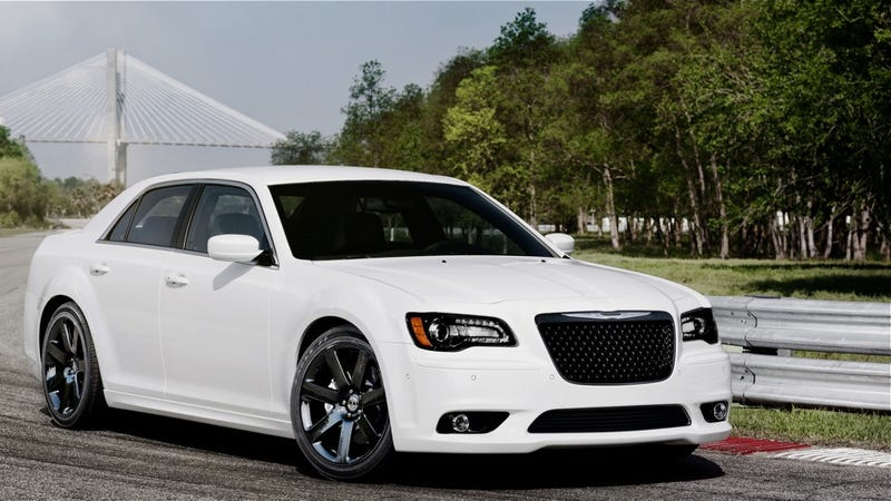 The 2012 Chrysler 300 SRT8 is the world's angriest refrigerator