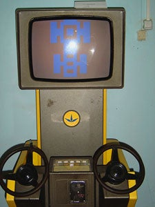We Will Steer Over You! Soviet-Era Arcade Video Games