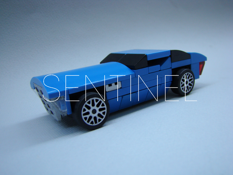 I Made an Art Deco LEGO Car