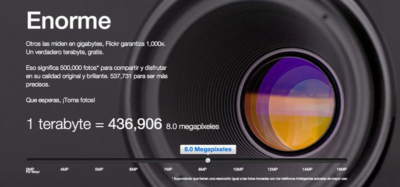 Flickr cambia de cara y ofrece 1TB para guardar nuestras fotos