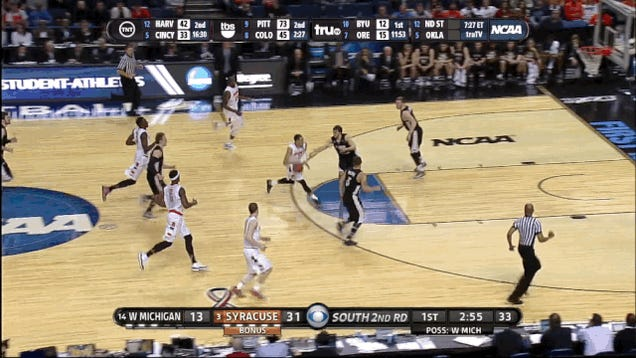 Tyler Ennis's Bucket Mimics The Pretty Spin Move That Made It Possible