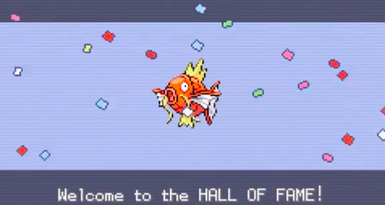 Pokemon Trainer Goes Through Entire Elite Four With Just A Magikarp