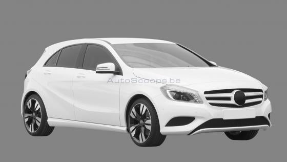 Mercedes-Benz A-Class suggests someone's a Mazda fan