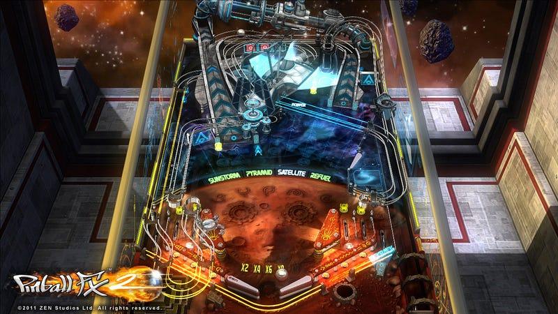 Pinball FX2 Goes To Mars
