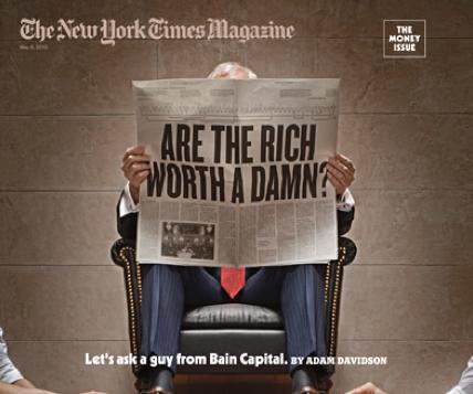 A Brief Critique of the Rich Man's Philosophy