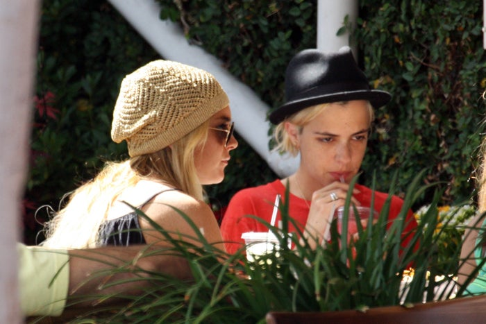 Lindsay Lohan & Samantha Ronson: Sippin' Pretty