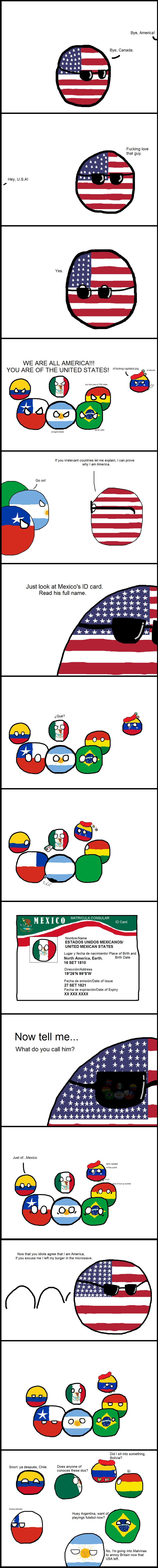 Daily Polandball: U.S of America