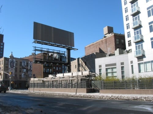 Hotel Gansevoort's Billboard Destroying Natural Beauty of Meatpacking District