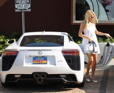 Lexus LFA: Paris Hilton edition