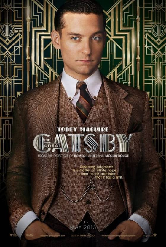 Discussing Six New Great Gatsby Posters With an Imaginary 10th Grader