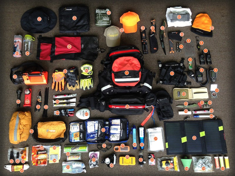 The Search and Rescue Pack