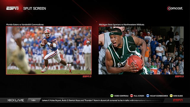 The Sweet New ESPN on Xbox 360 Is Now Available
