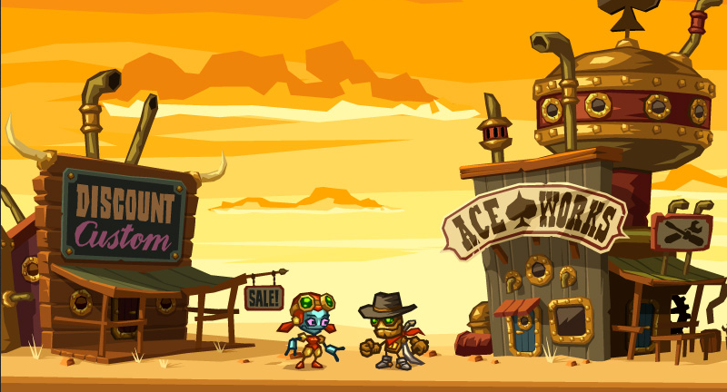 Forget About Humanity. Robots Rule The Land In This Steampunk Game.