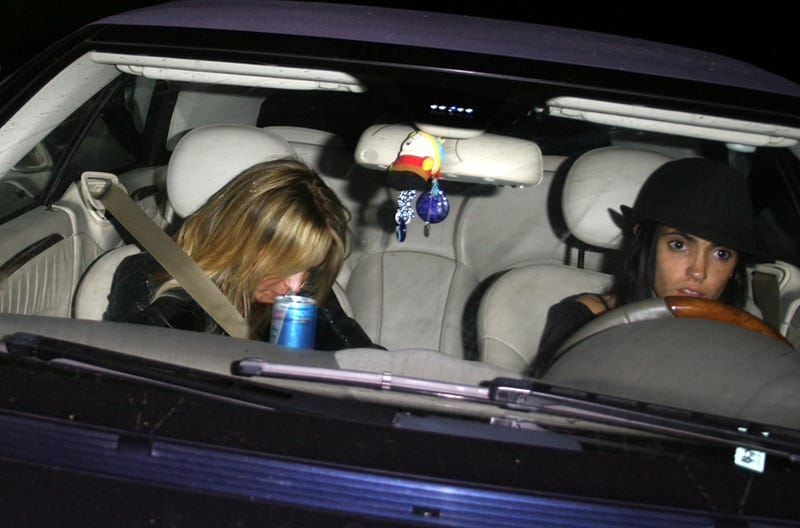 Hey, Lindsay: That's Not Sam Ronson's Car
