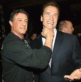 Arnold Schwarzenegger Roped Into 'Expendables' Cameo