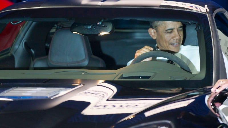 Barack Obama Car Show: Live Photos