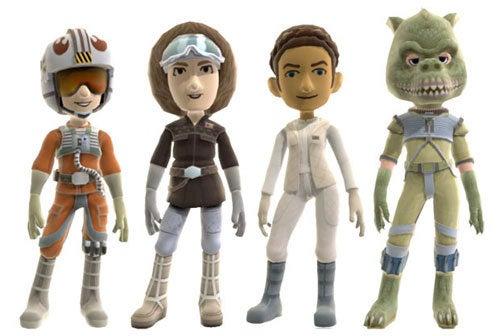 Rebel Scum It Up With New Star Wars Xbox 360 Avatar Gear