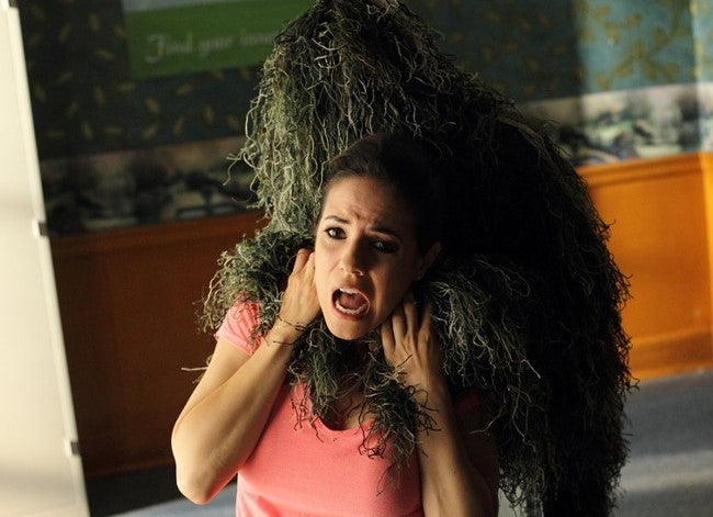 Bo is a camp counselor fighting the lamest monster ever on Lost Girl