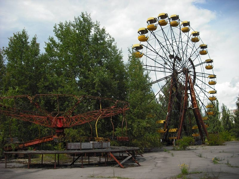 These photographs of present-day Chernobyl are utterly haunting