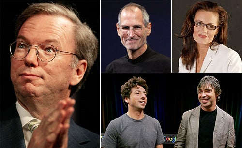 Exclusive: How Google's Eric Schmidt Lost His Mistress, His Partner and Steve Jobs